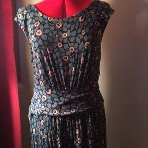 Summer dress with floral design